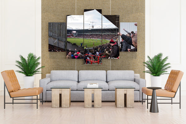 Football Stadium - 5 piece Canvas