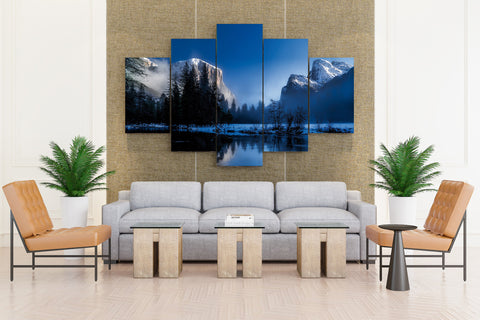 Yellowstone National Park - 5 piece Canvas