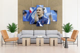 5 piece Canvas Zlatan Ibrahimovic (Swedish Footballer) For Your Home & Office Wall Decor - EpicKanvas