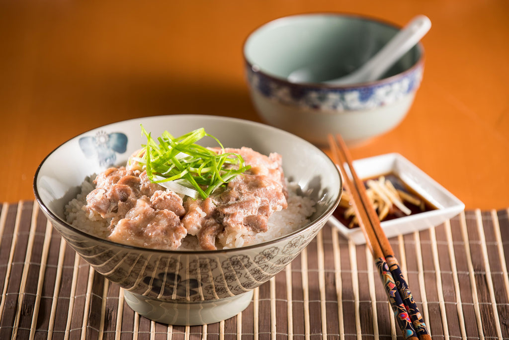 虾酱肉片煲仔饭 Claypot Pork Rice with Shrimp Paste