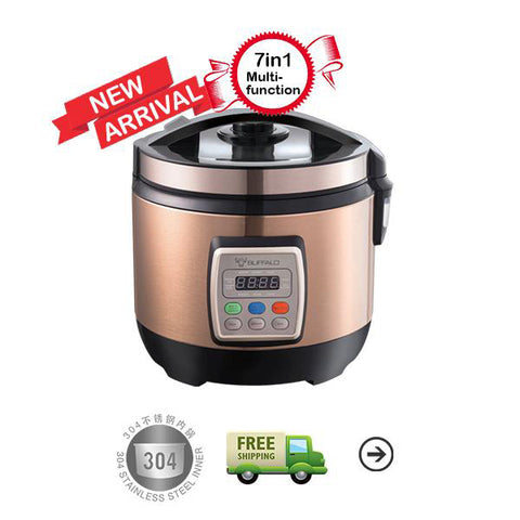 1.8L Multifunction Rice Cooker 【1.8L 多功能安康饭锅】