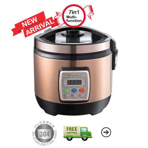 2.2L Multifunction Rice Cooker 【2.2L 多功能安康饭锅】