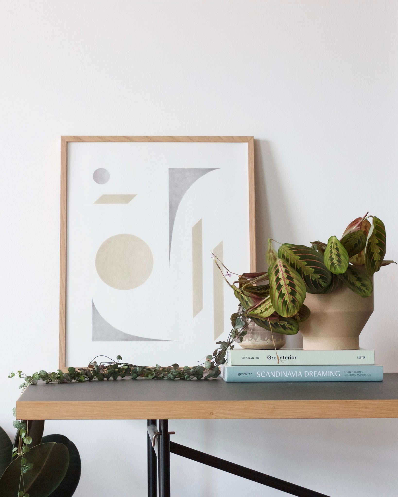 8 Brilliant ways to display art. Art print by Kristina Krogh
