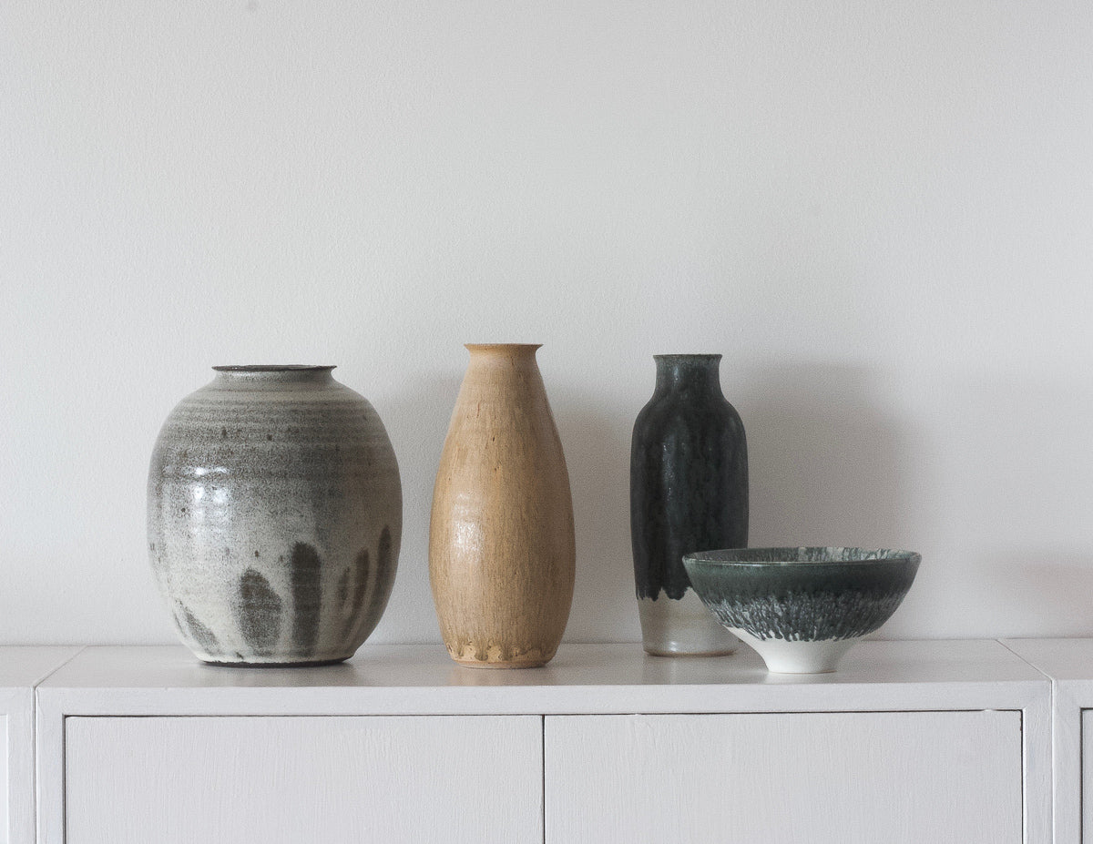 Karin Blach Nielsen vases collection at NABO