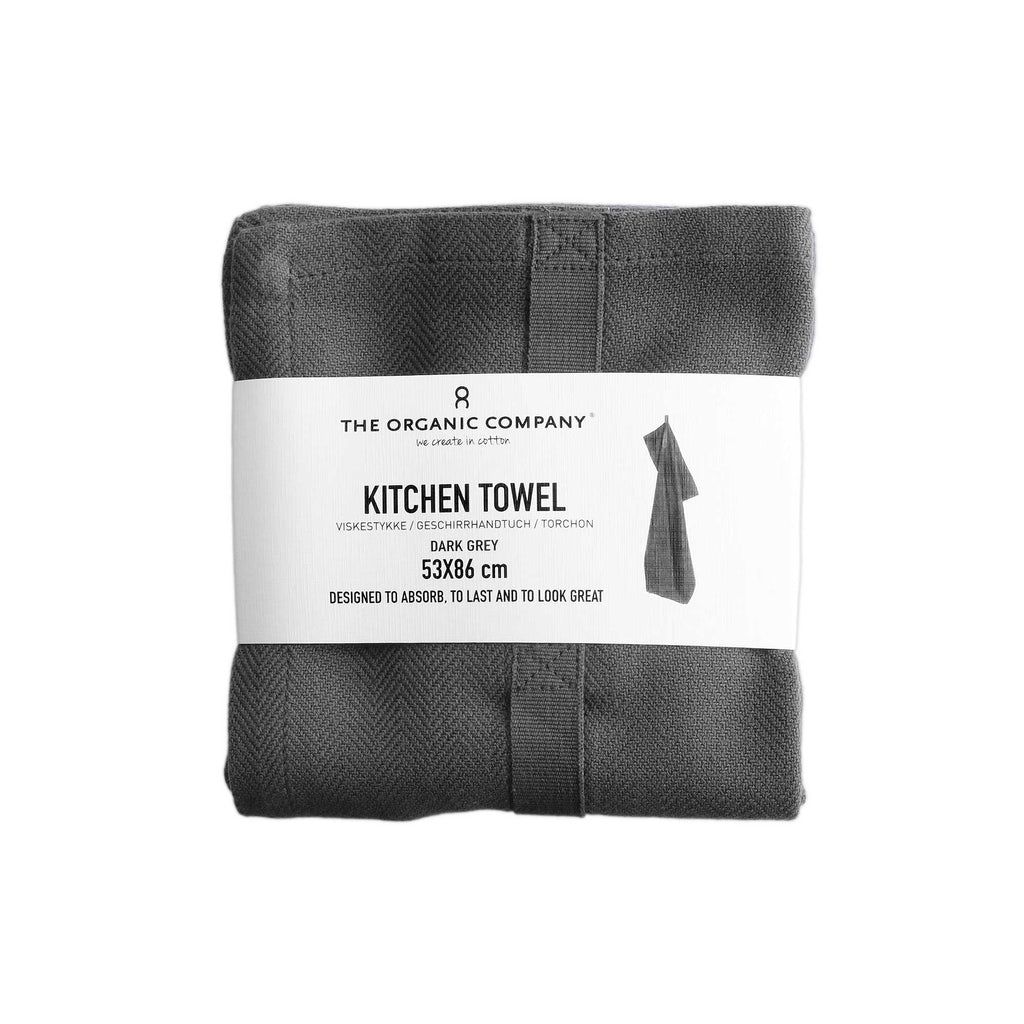 Kitchen Towel, Dark Grey