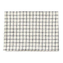 Linen Kitchen Cloth | Beige & Black
