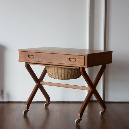 Danish Vintage Sewing Table