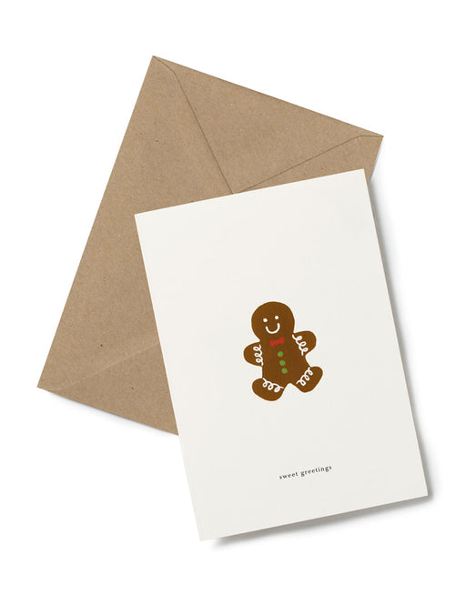 Greeting Card | Gingerbread Man