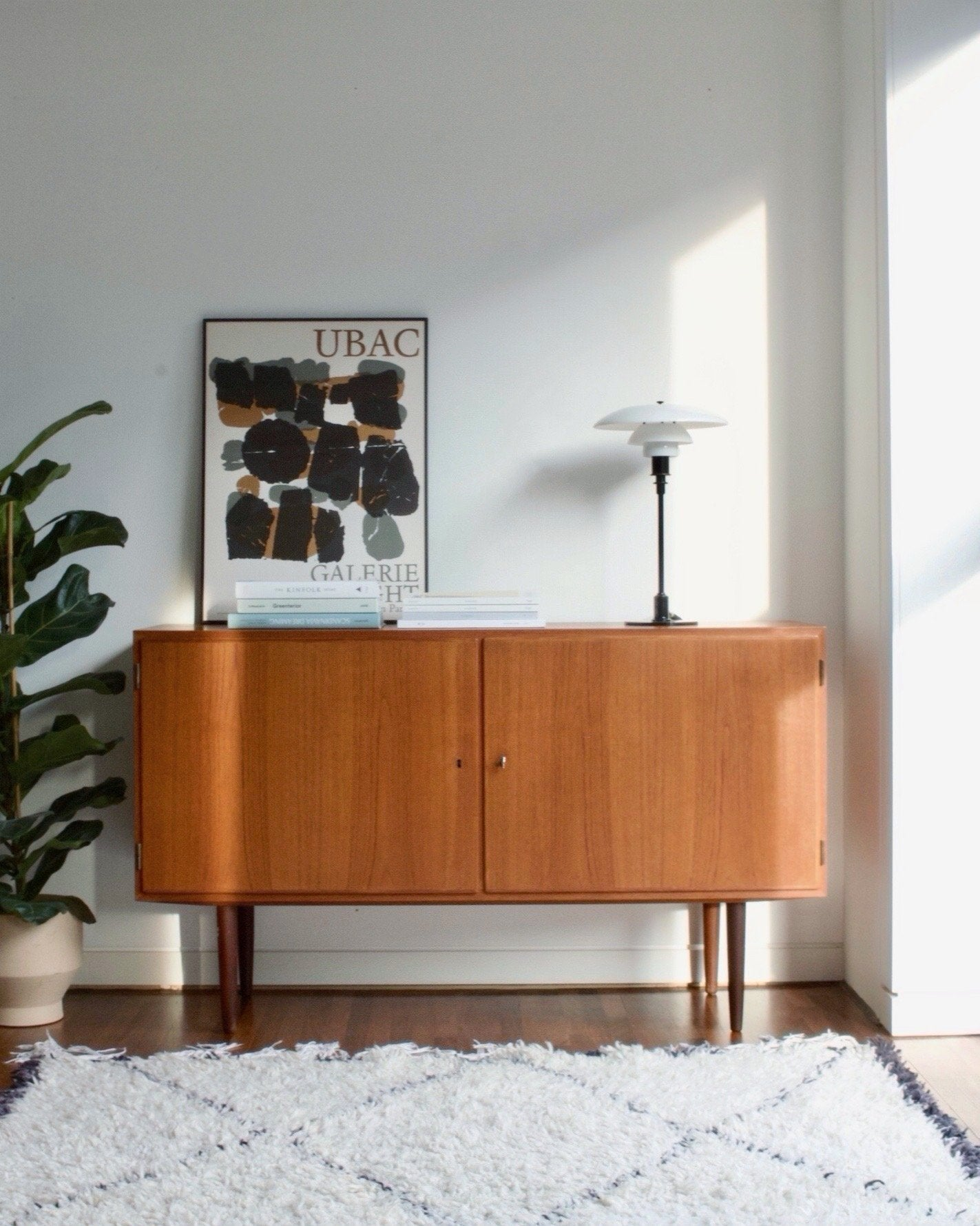 Danish Vintage Sideboard, Haslev Furniture Factory available at NABOshop