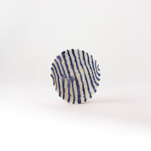 Treasure Bowl - Blue Thin Lines