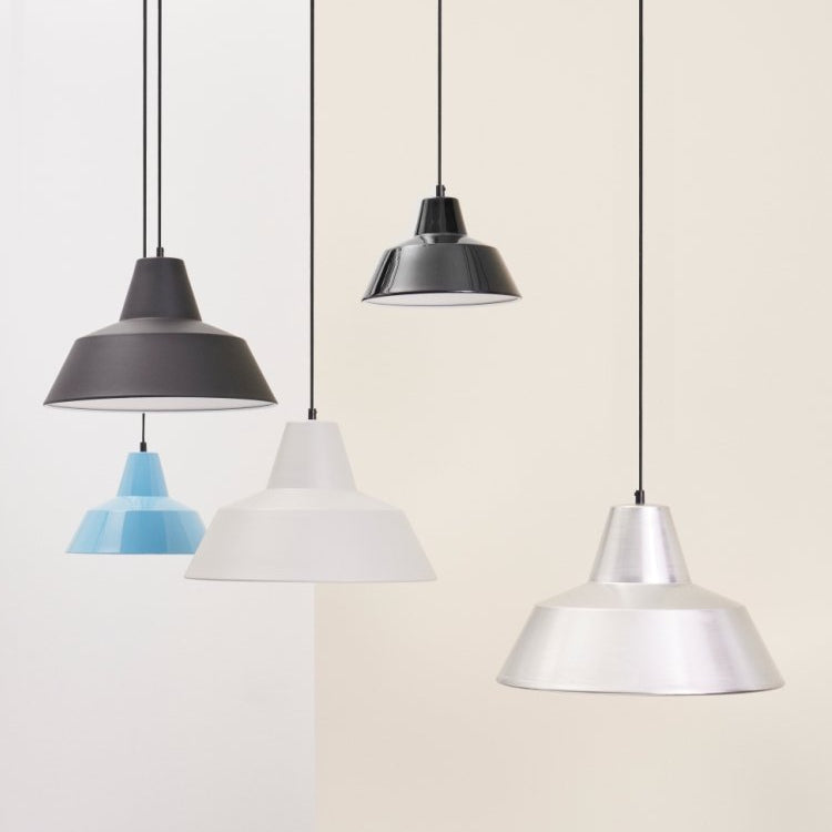 Workshop Lamp Matte Black