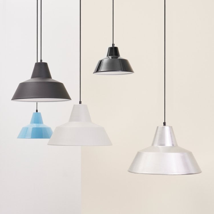 Workshop Lamp Matte Grey