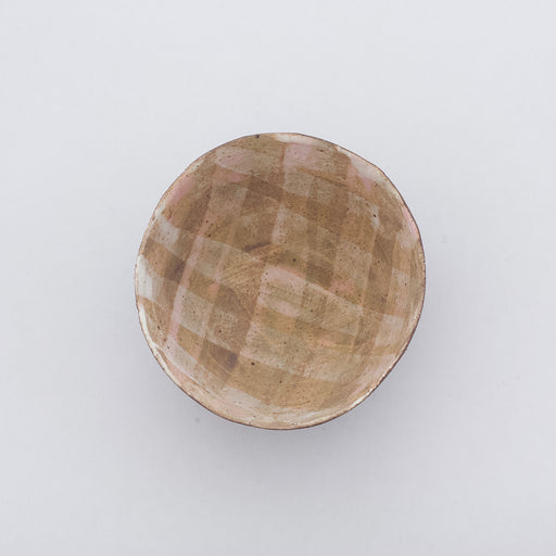 Treasure Bowl - Beige & Pink