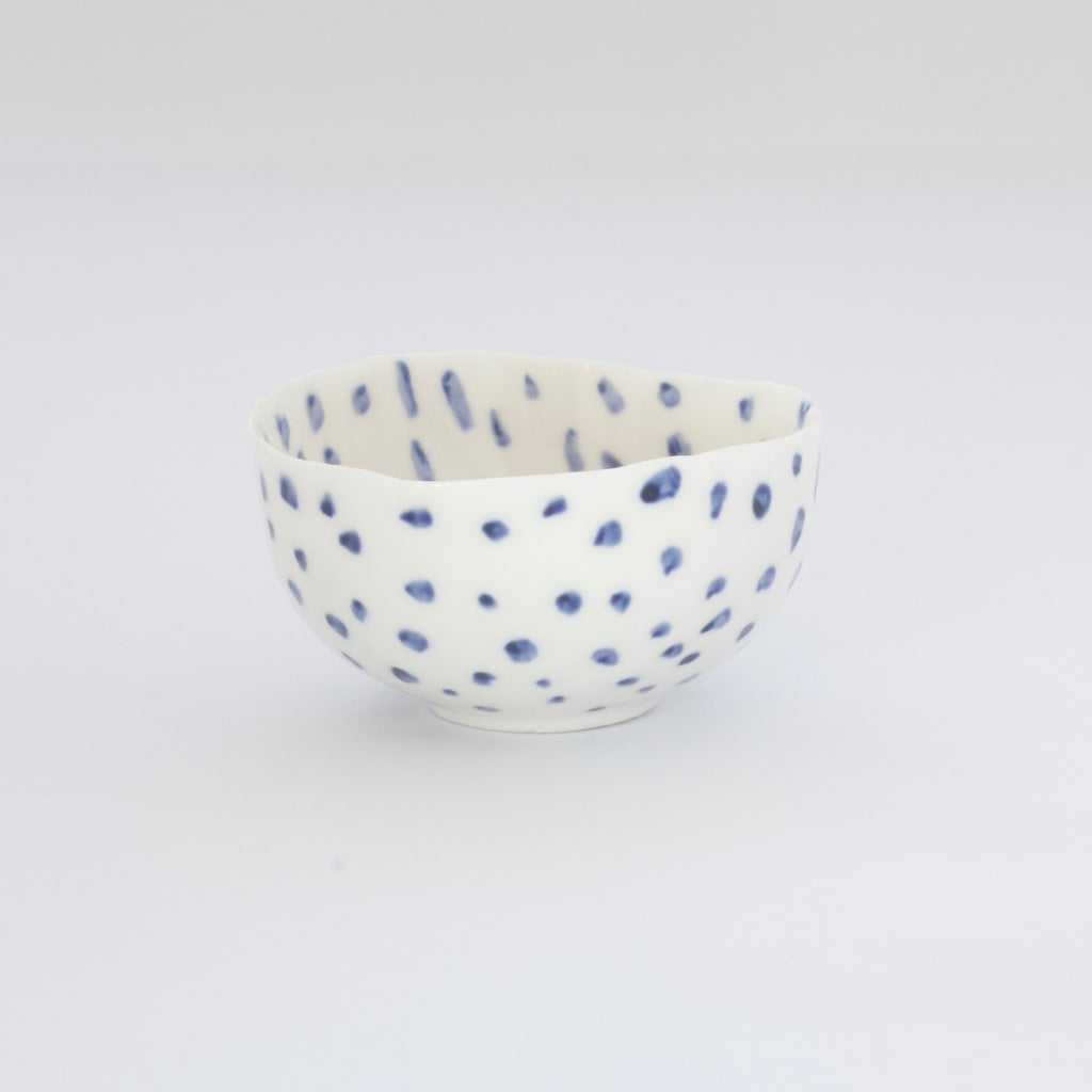 Treasure Bowl - Blue Dots