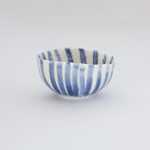Treasure Bowl - Blue Stripes