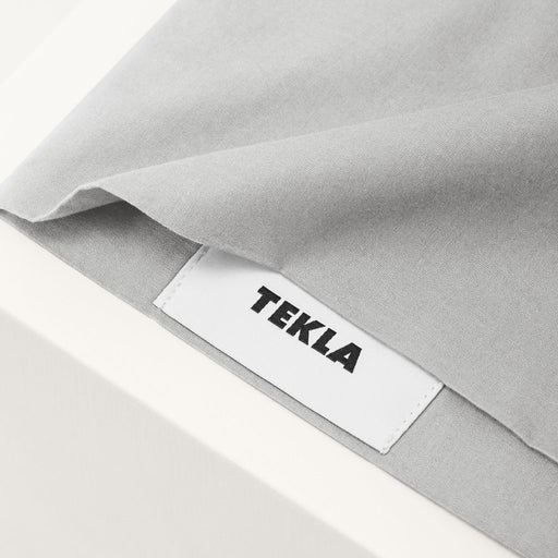 Soft Grey Cotton Percale Bedding