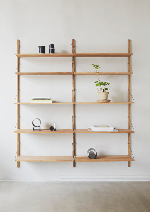 Shelf Library White/Steel
