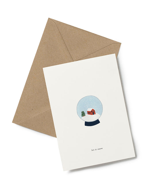 Greeting Card | Snow Globe