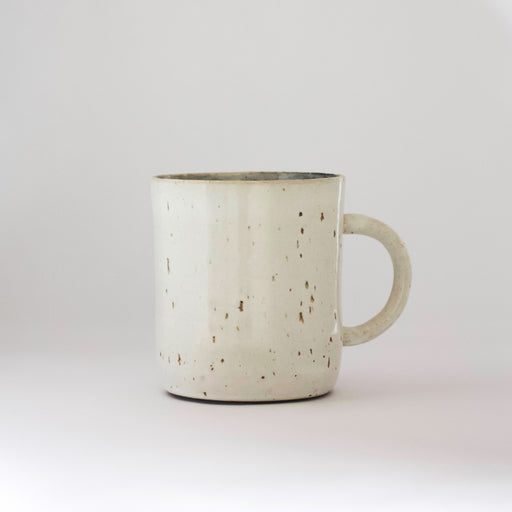 Cup with handle | White