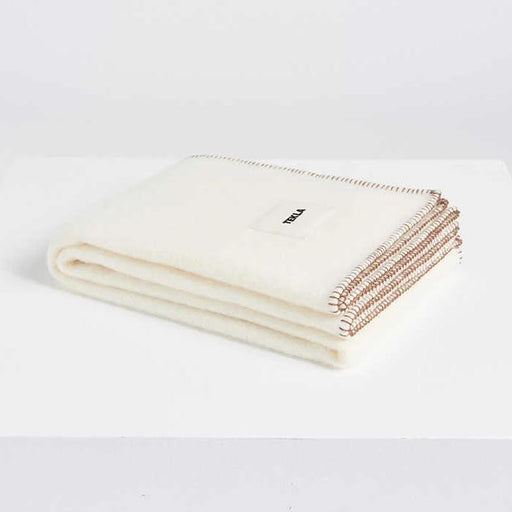 New Pure Wool Blanket | Creme White