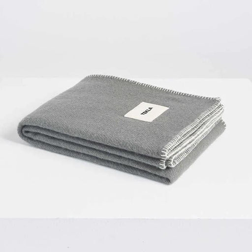 New Pure Wool Blanket | Laurel Green