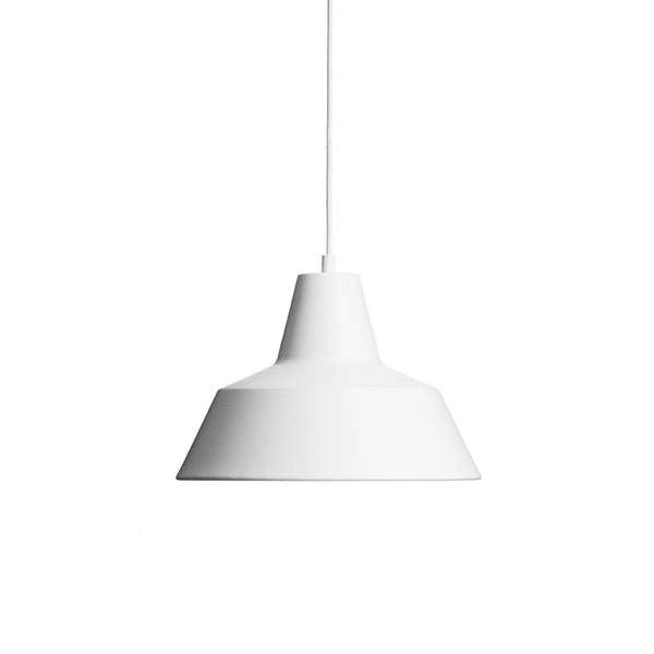 Workshop Lamp Matte White