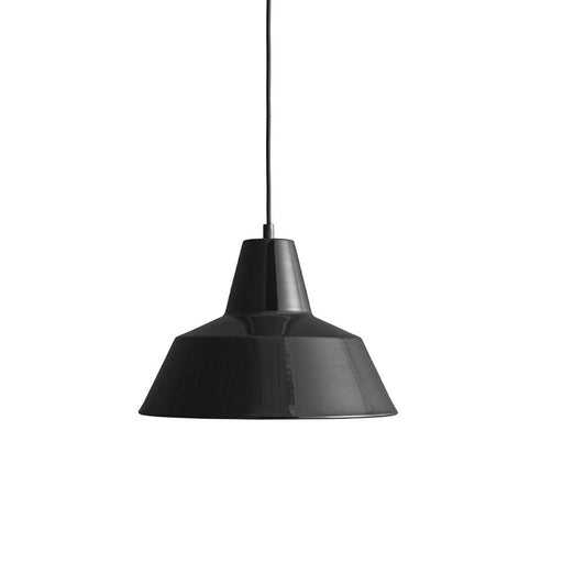 Workshop Lamp Shiny Black