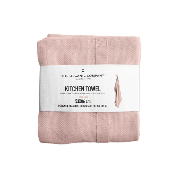 Kitchen Towel, Pale Rose