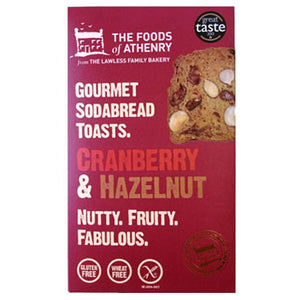 The Foods of Athenry - Cranberry & Hazelnut Soda Bread Toasts 110g