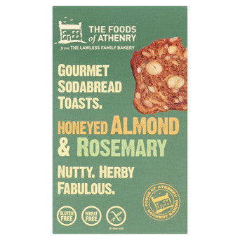 The Foods of Athenry -  Honeyed Almond & Rosemary Soda Bread Toasts 110g