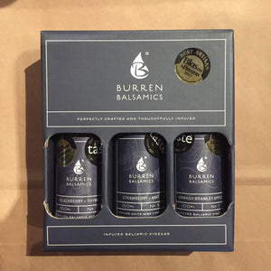 Burren Balsamics - Award Winners Trio Limited Edition Gift Box 300ml