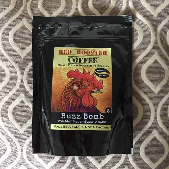 Red Rooster Coffee - Buzz Bomb #5 Whole Bean 227g