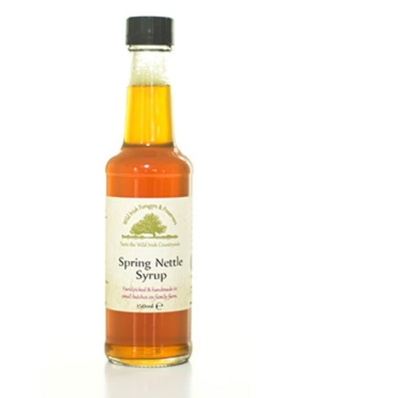 Wild Irish Foragers - Spring Nettle Syrup 150ml