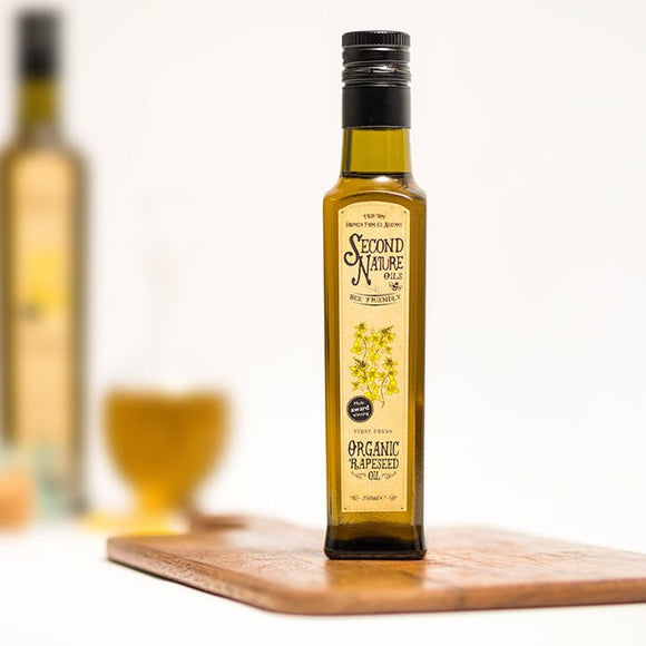 Second Nature Oils - Organic Rapeseed Oil 250ml