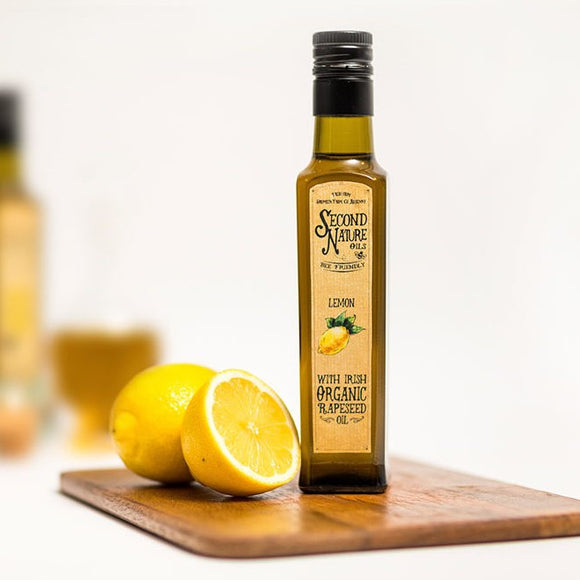 Second Nature Oils - Organic Rapeseed Oil with Lemon 250ml
