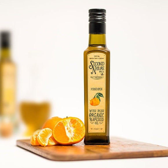 Second Nature Oils - Organic Rapeseed Oil with Mandarin 250ml