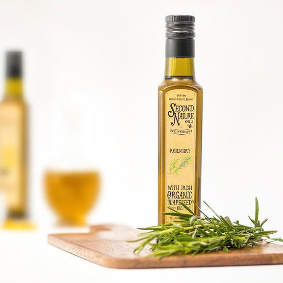 Second Nature Oils - Organic Rapeseed Oil with Rosemary 250ml