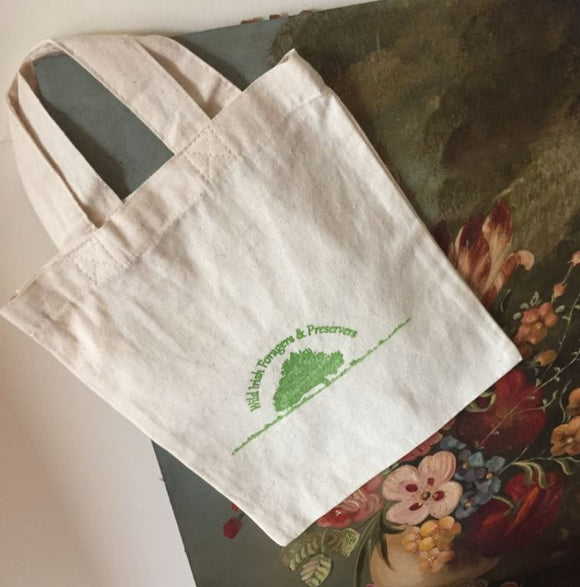 Wild Irish Foragers - Canvas Lunch Tote Bag