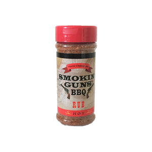 Smokin' Guns BBQ - Hot Rub 198g