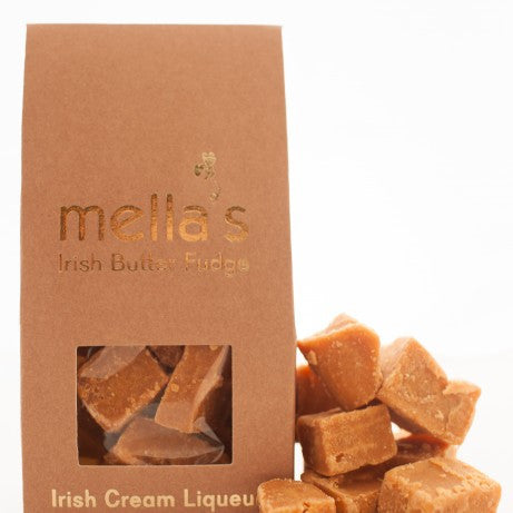 Mella's Irish Butter Fudge - Irish Cream Liqueur Pouch 175g