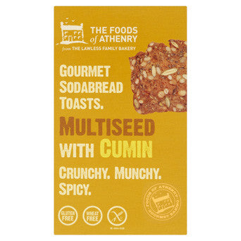 The Foods of Athenry - Multiseed with Cumin Soda Bread Toasts 110g