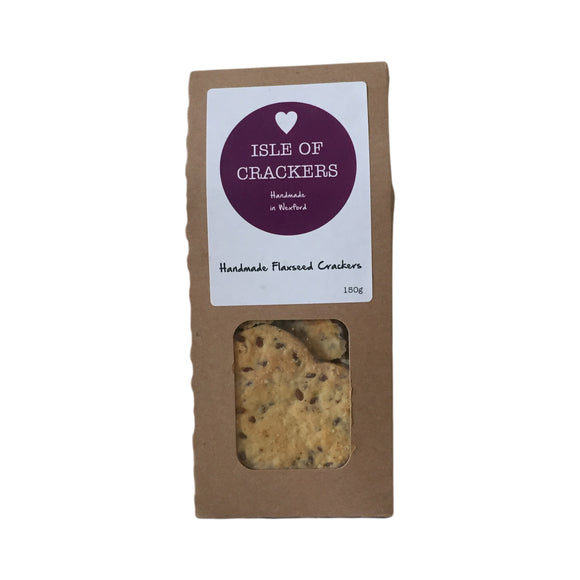 Isle of Crackers - Handmade Flaxseed Crackers 150g