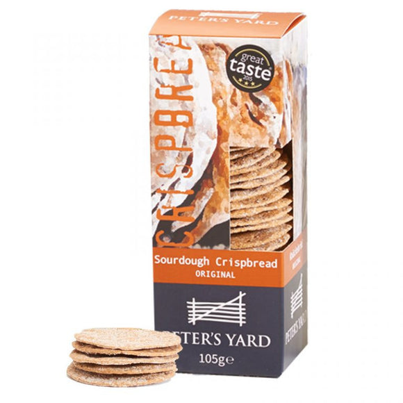 Peter's Yard - Sourdough Crispbread Original 105g