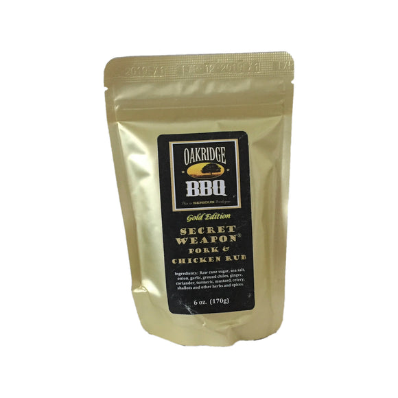 Oakridge BBQ - Secret Weapon Pork & Chicken Rub 170g