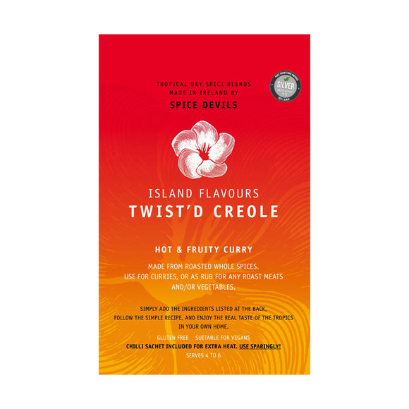 Spice Devils Island Flavours - Twist'd Creole Spice Blend 25g