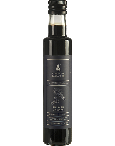 Burren Balsamics - Rhubarb & Ginger 250ml