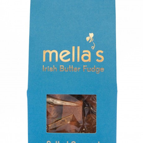 Mella's Irish Butter Fudge - Salted Caramel Pouch 175g