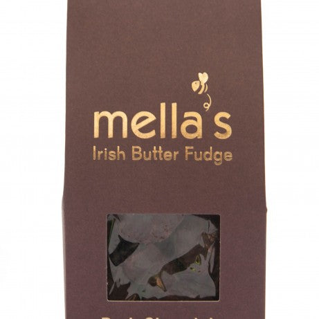 Mella's Irish Butter Fudge - Dark Chocolate Pouch 175g