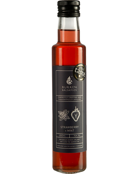 Burren Balsamics - Strawberry & Mint 250ml