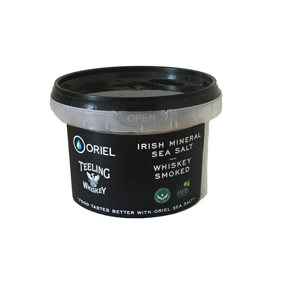 Oriel Sea Salt - Teeling Whiskey Smoked Sea Salt 250g